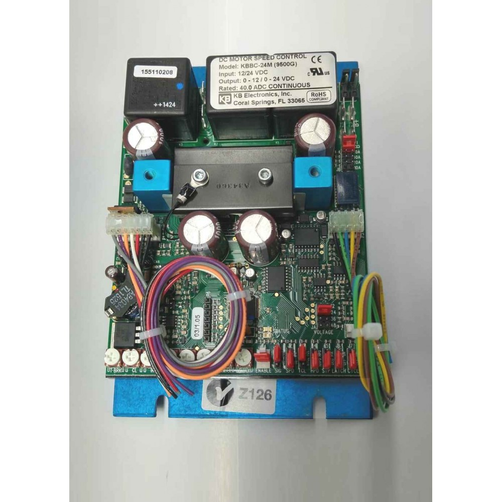 Kbbc battery powered motor control for Battery powered dc motor