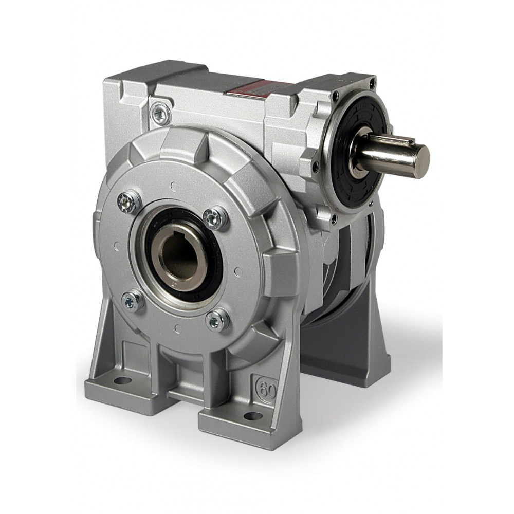 Gearbox Universal Mount Single Stage Worm Gear Rs
